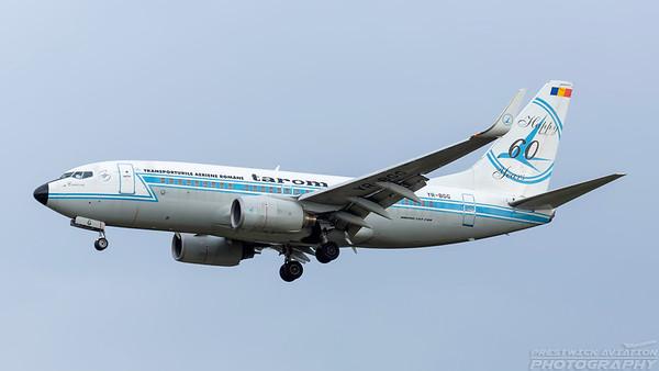 YR-BGG. Boeing 737-78J. Tarom. Frankfurt. 200518.