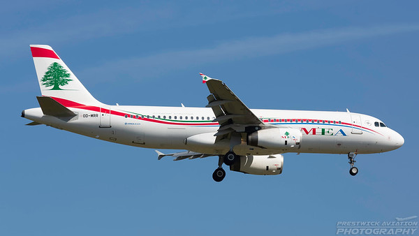 OD-MRR. Airbus A320-232. MEA. Frankfurt. 210518.