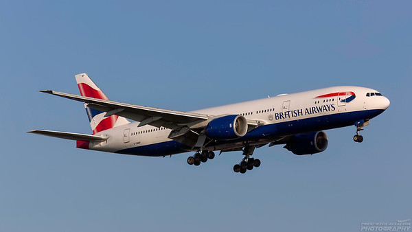 G-YMMP. Boeing 777-236/ER. British Airways. Heathrow. 101018.