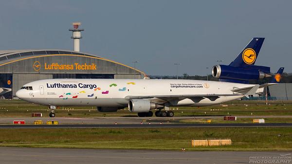D-ALCH. McDonnell Douglas MD-11F. Lufthansa Cargo. Frankfurt. 220518.