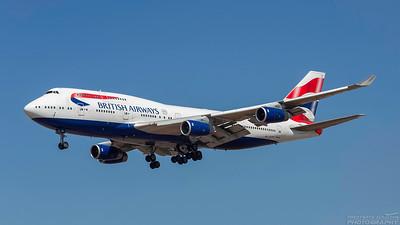 G-CIVF. Boeing 747-436. British Airways. Los Angeles. 200918.