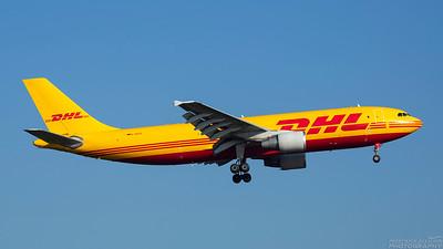D-AEAS. Airbus A300B4-622R(F). DHL. Heathrow. 101018.
