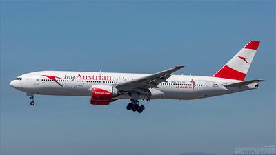 OE-LPD. Boeing 777-2Z9(ER). Austrian Airlines. Los Angeles. 180918.