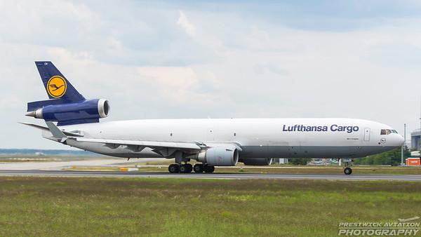 D-ALCN. McDonnell Douglas MD-11F. Lufthansa Cargo. Frankfurt. 200518.