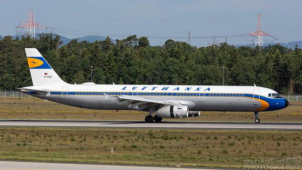 D-AIDV. Airbus A321-231. Lufthansa. Frankfurt. 210518.