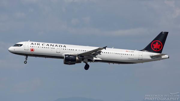 C-GIUF. Airbus A321-211. Air Canada. Los Angeles. 240318.