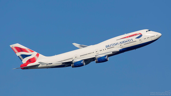G-BYGD. Boeing 747-436. British Airways. Heathrow. 101018.