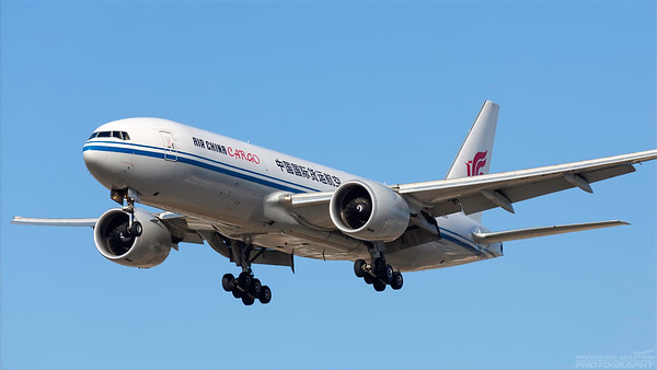 B-2091. Boeing 777-FFT. Air China Cargo. Los Angeles. 240918.