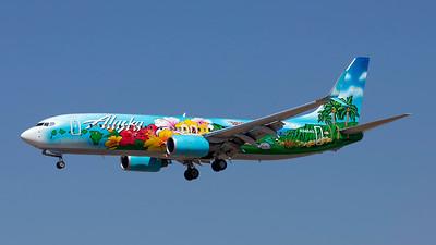 N560AS. Boeing 737-890. Alaska Airlines. Los Angeles. 220918.