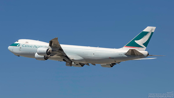B-LJG. Boeing 747-867(F). Cathay Pacific Cargo. Los Angeles. 160918.