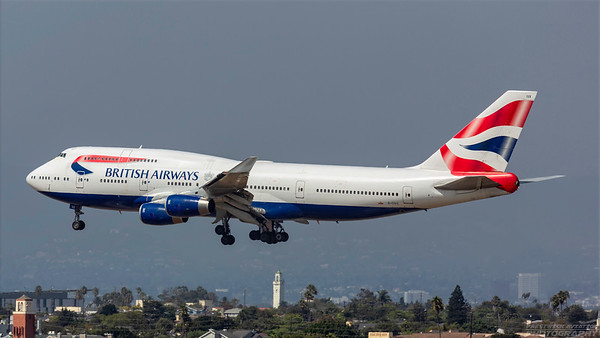 G-CIVX. Boeing 747-436. British Airways. Los Angeles. 200918.