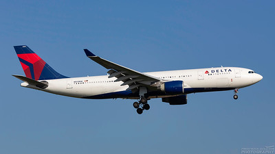 N851NW. Airbus A330-223. Delta. Heathrow. 101018.