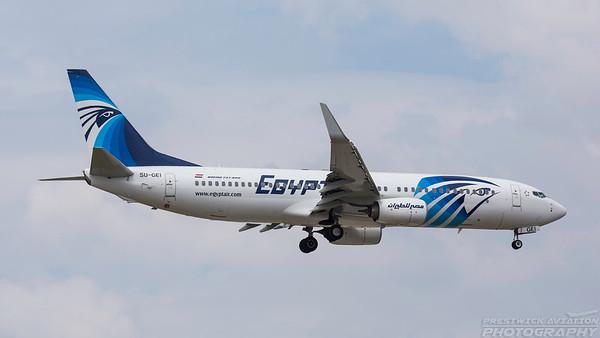 SU-GEI. Boeing 737-866. EgyptAir. Frankfurt. 200518.