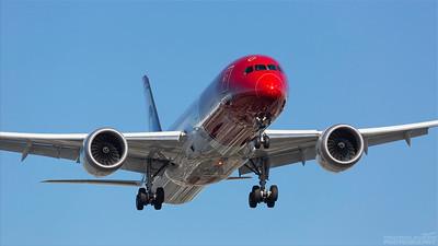 LN-LNR. Boeing 787-9 Dreamliner. Norwegian. Los Angeles. 170918.