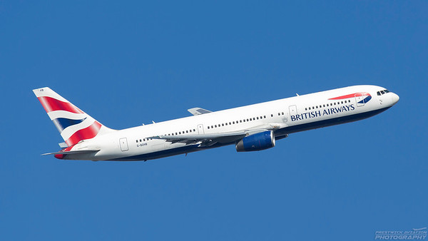 G-BZHB. Boeing 767-336(ER). British Airways. Heathrow. 101018.
