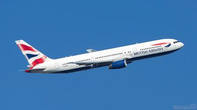 G-BZHB. Boeing 767-336(ER). British Airways. Heathrow. 101018.
