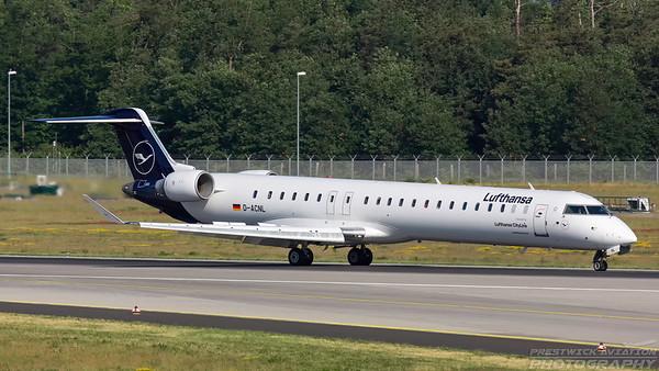 D-ACNL. Bombardier CRJ-900LR. Lufthansa. Frankfurt. 210518.