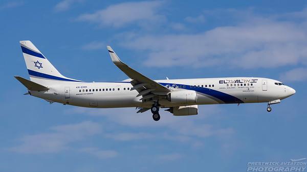 4X-EHH. Boeing 737-958(ER). ELAL. Frankfurt. 210518.