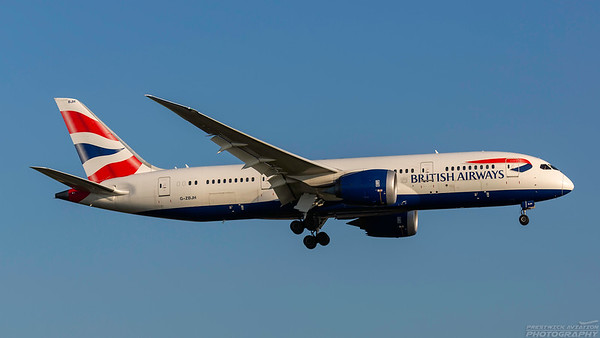 G-ZBJH. Boeing 787-8  Dreamliner. British Airways. Heathrow. 101018.