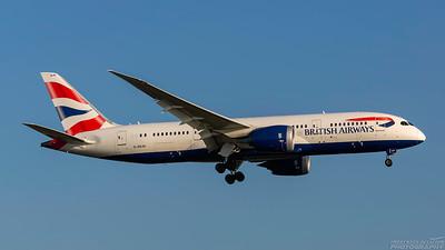 G-ZBJH. Boeing 787-8  Dreamliner. British Airways. Heathrow. 101018.