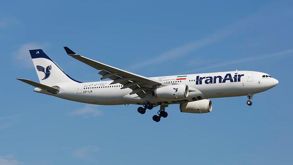EP-IJA. Airbus A330-200. Iran Air. Frankfurt. 210518.