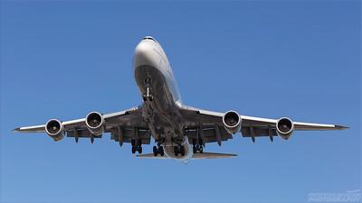 D-ABYQ. Boeing 747-830. Lufthansa. Los Angeles. 170918.