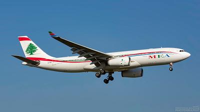 OD-MEC. Airbus A330-243. MEA. Heathrow. 101018.