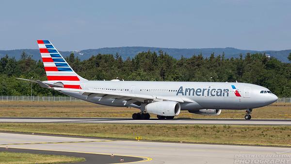 N285AY. Airbus A330-243. American. Frankfurt. 210518.