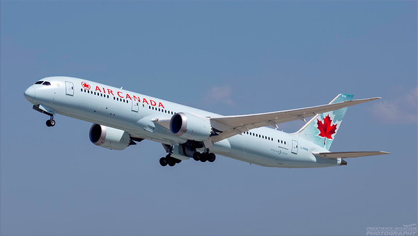 C-FRSE. Boeing 787-9 Dreamliner. Air Canada. Los Angeles. 240918.