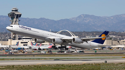 D-AIHV. Airbus A340-642. Lufthansa. Los Angeles. 260318.