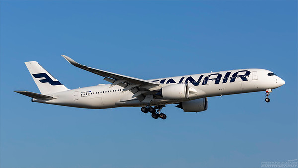 OH-LWE. Airbus A350-941. Finnair. Heathrow. 101018.