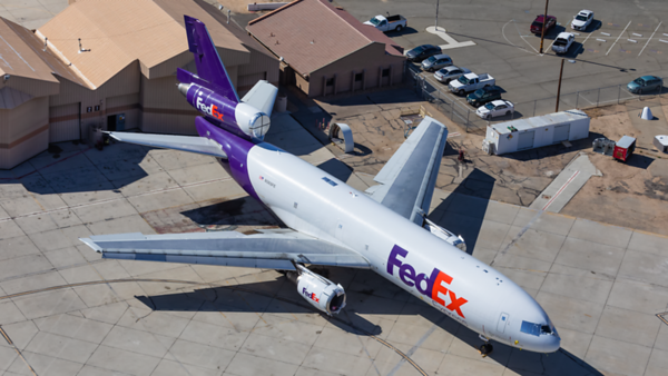 N365FE. McDonnell Douglas MD-10-10F. FedEx. Victorville. 240519.