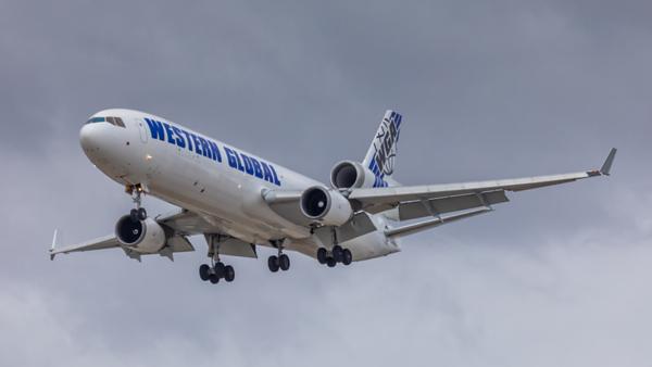 N799JN. McDonnell Douglas MD-11F. Western Global. Los Angeles. 230519.