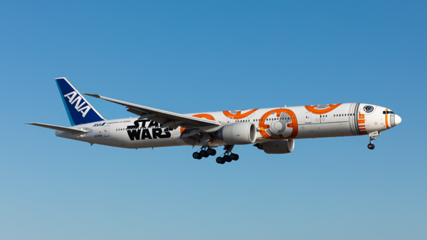 JA789A. Boeing 777-381/ER. All Nippon Airways. Los Angeles. 250519.