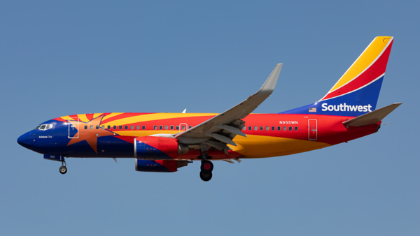N955WN. Boeing 737-7H4. Southwest. Los Angeles. 170919.