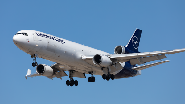 D-ALCA. McDonnell Douglas MD-11F. Lufhansa Cargo. Los Angeles. 180919.