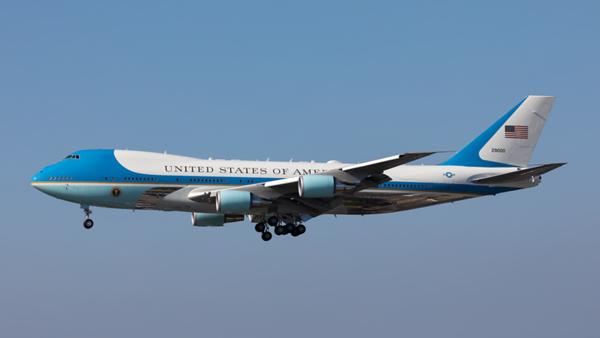 92-9000. Boeing VC-25A. USAF. Los Angeles. 180919.