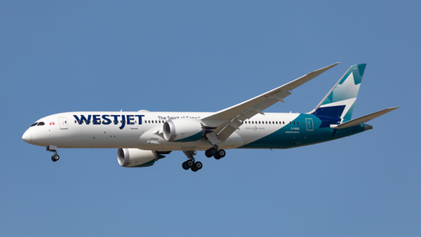 C-GUDO. Boeing 787-9 Dreamliner. Westjet. Toronto. 250919.