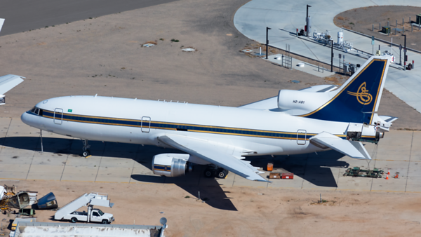HZ-AB1. Lockheed L-1011-500 Tristar. Al Anwa Aviation. Victorville. 240519.