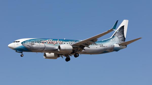 N559AS. Boeing 737-890. Alaska Airlines. Los Angeles. 170919.