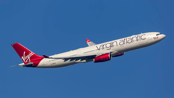 G-VNYC. Airbus A330-343. Virgin Atlantic. Heathrow. 240219.