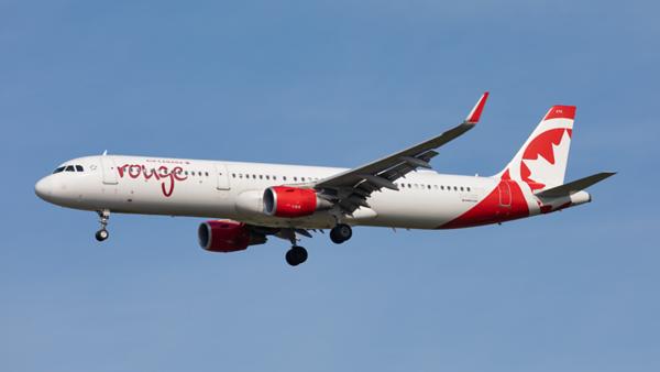 C-FJQD. Airbus A321-211. Air Canada Rouge. Toronto. 250919.
