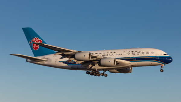 B-6139. Airbus A380-841.  China Southern Airlines. Los Angeles. 200519.