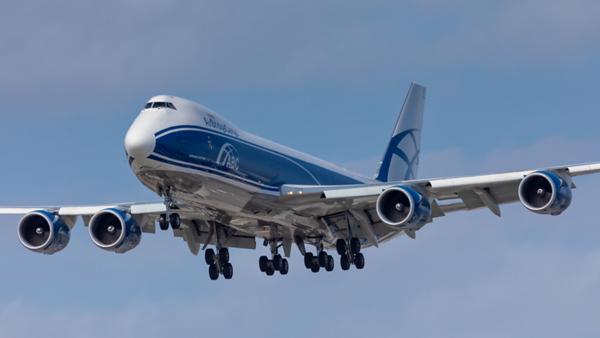 VP-BBY. Boeing 747-83QF. Air Bridge Cargo. Los Angeles. 210519.