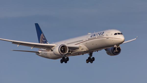 N14001. Boeing 787-10 Dreamliner. United. Los Angeles. 230519.