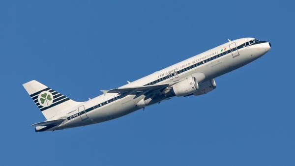 EI-DVM. Airbus A320-214. Aer Lingus. Heathrow. 240219.