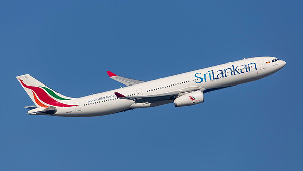4R-ALQ. Airbus A330-343. Srilankan. Heathrow. 240219.