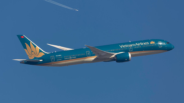 VN-A864. Boeing 787-9 Dreamliner. Vietnam Airlines. Heathrow. 240219.