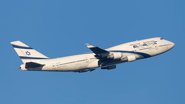 4X-ELB. Boeing 747-458. EL AL. Heathrow. 240219.