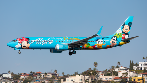 N318AS. Boeing 737-990. Alaska Airlines. San Diego. 290120.